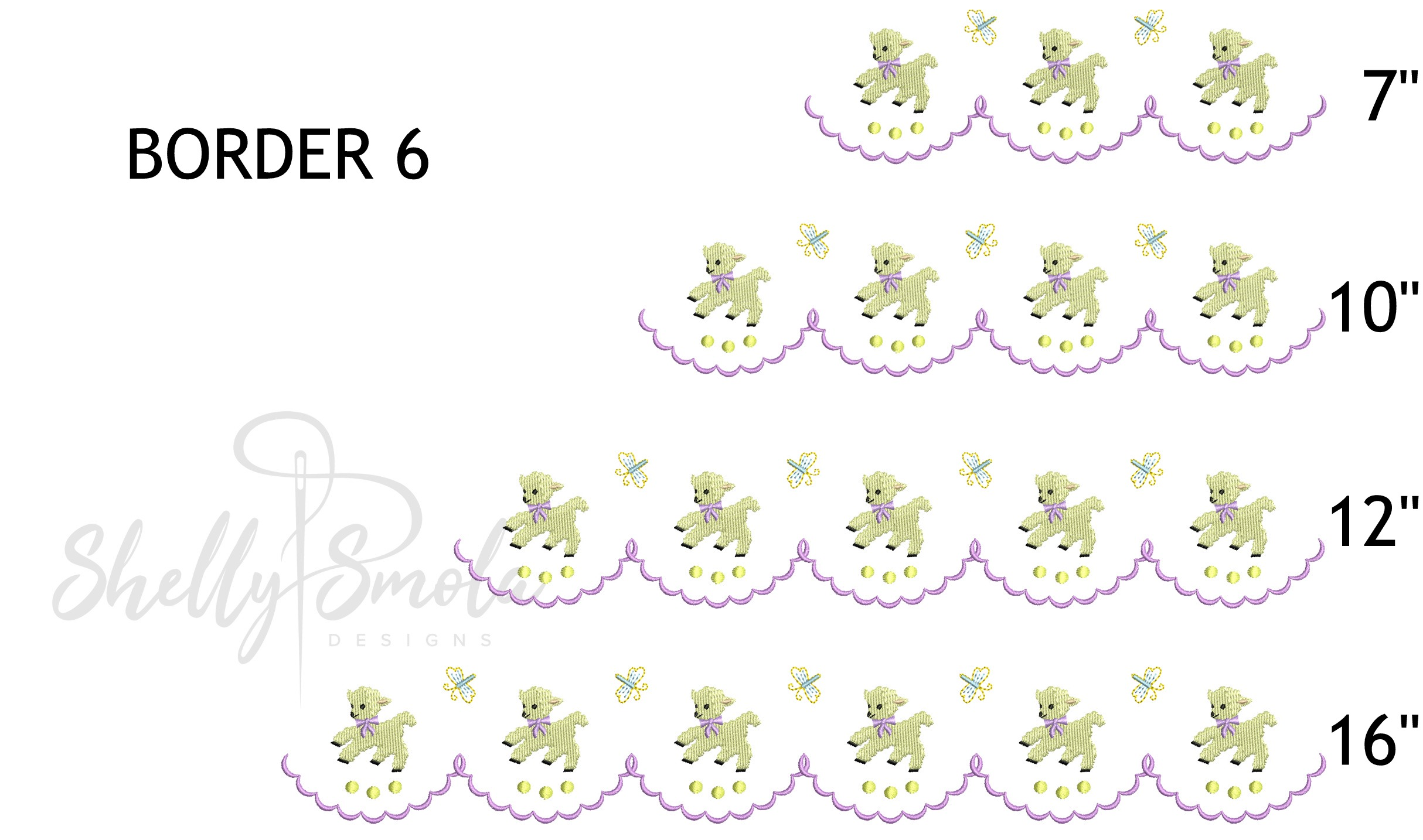 Spring Accent Borders by Shelly Smola