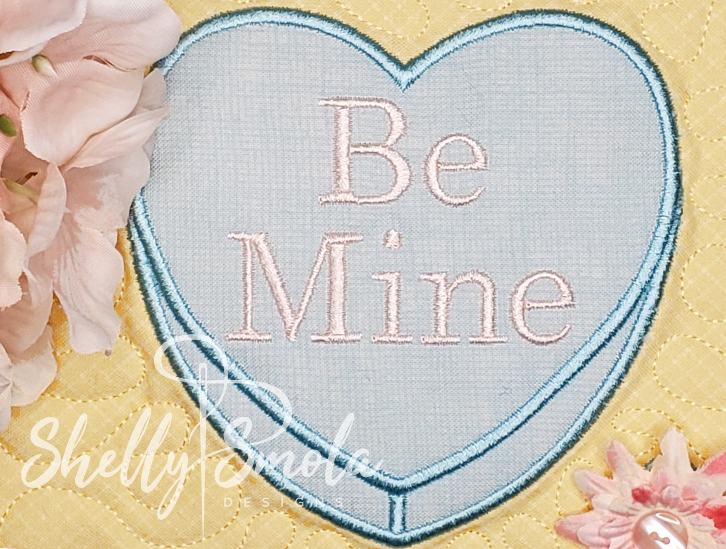 Be Mine Candy Heart by Shelly Smola