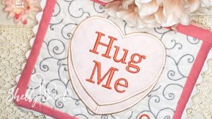 Hug Me Candy Heart by Shelly Smola