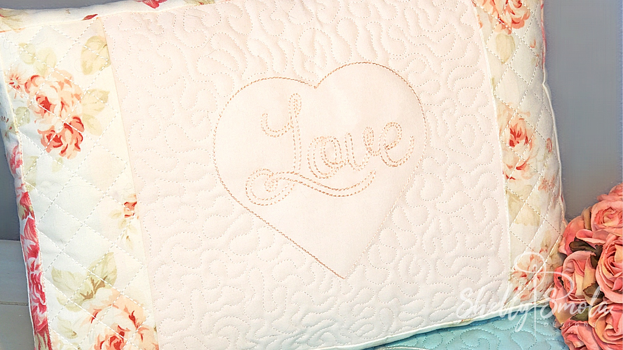Love Pillow by Shelly Smola