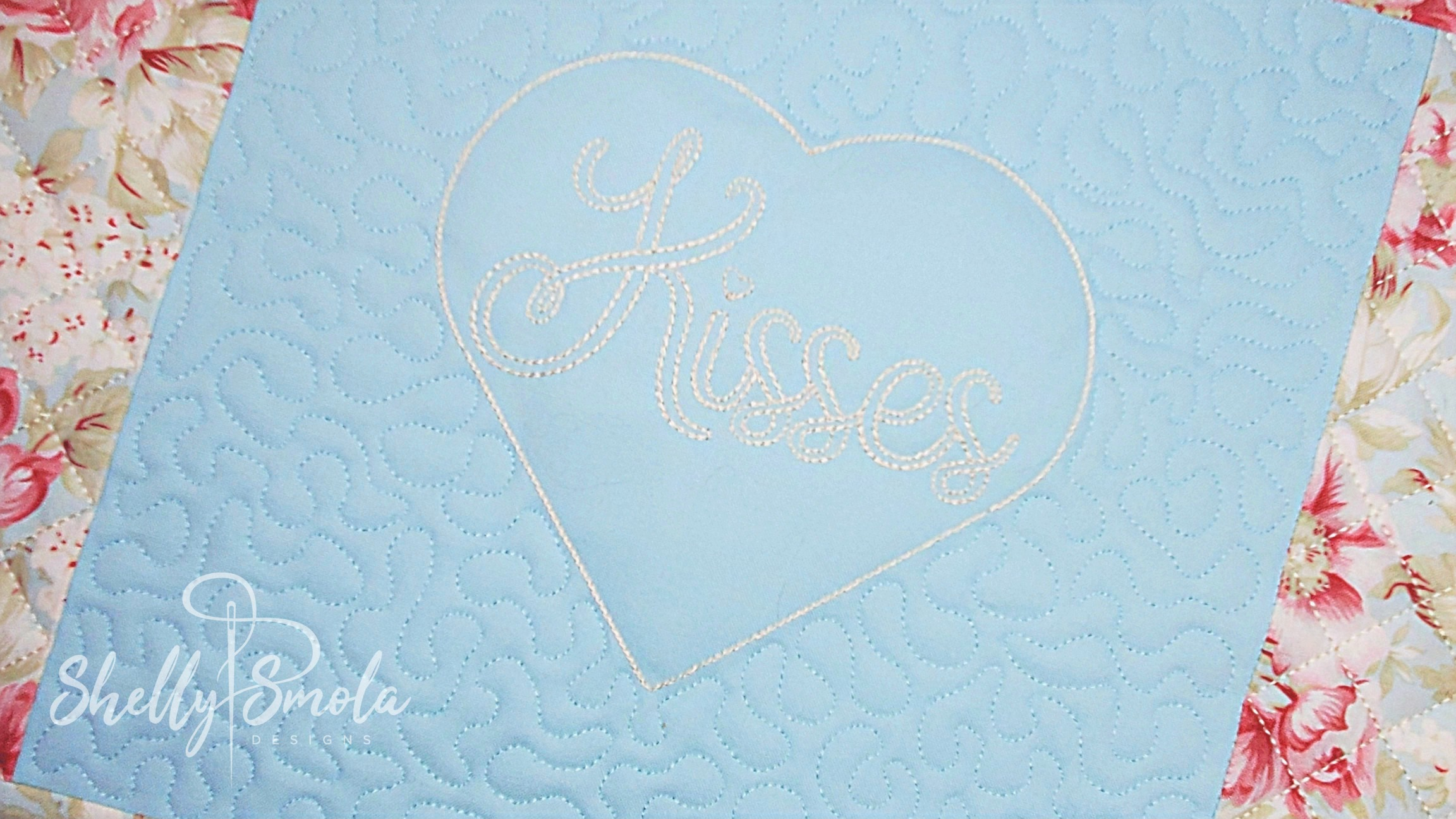 Kisses Placemat by Shelly Smola