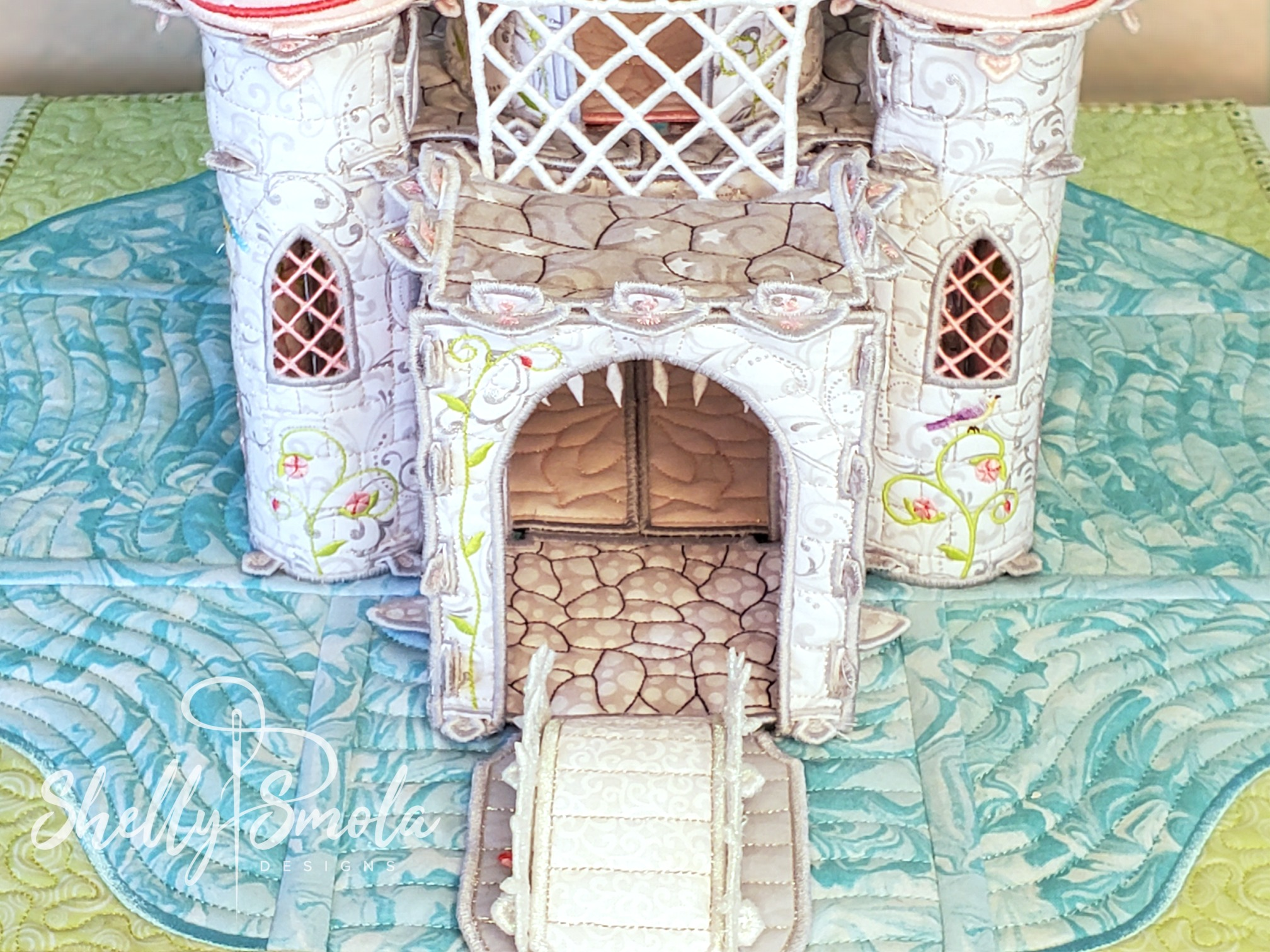 Once Upon a Time Castle Portcullis by Shelly Smola