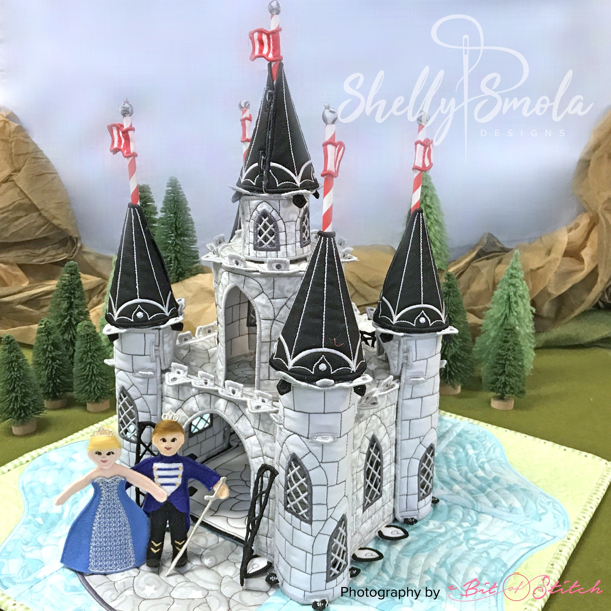Once Upon a Time Castle by Shelly Smola