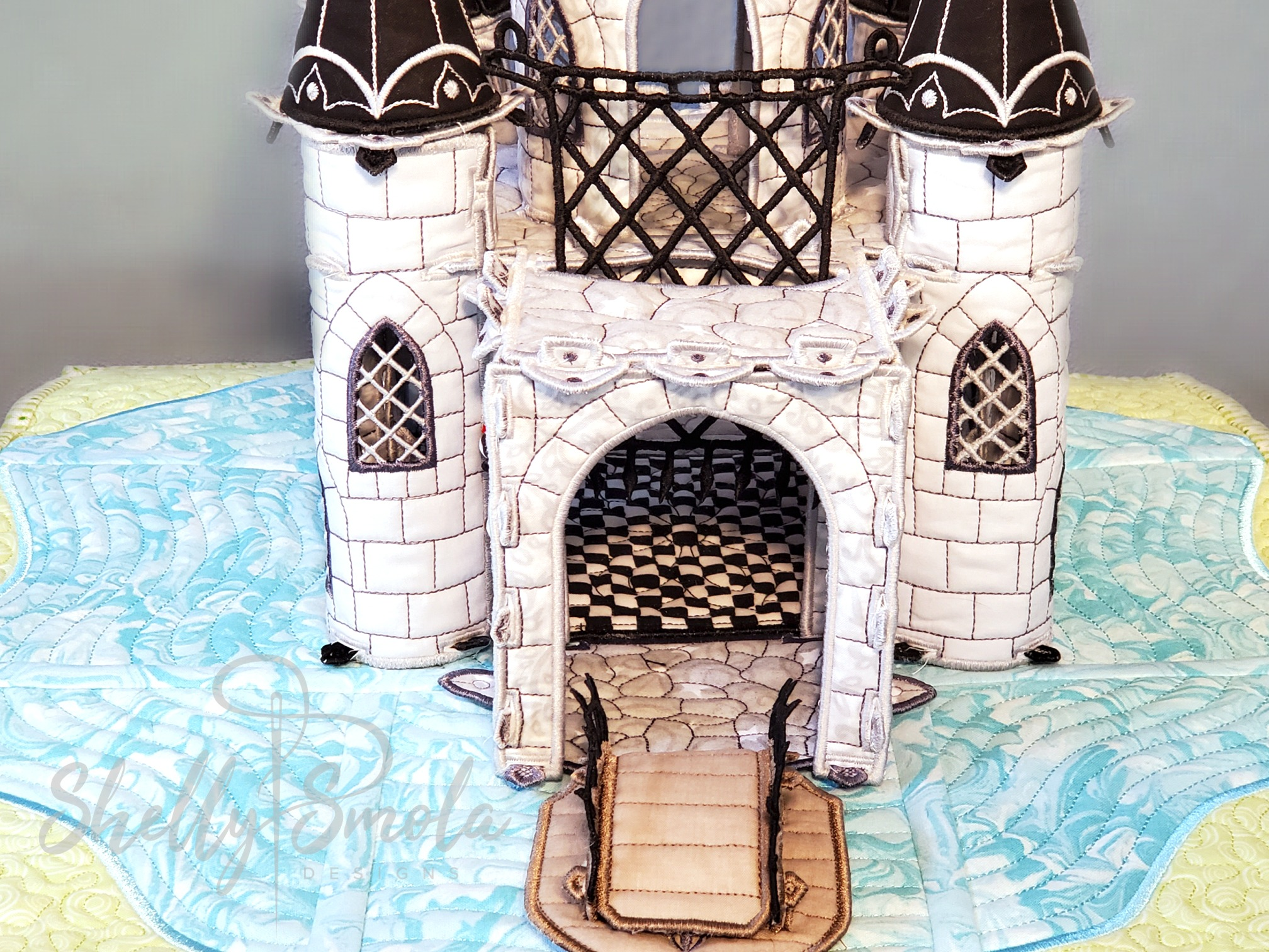 Once Upon a Time Castle Front by Shelly Smola