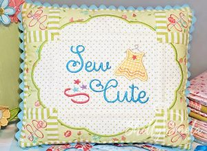 Sew Cute PIllow by Shelly Smola