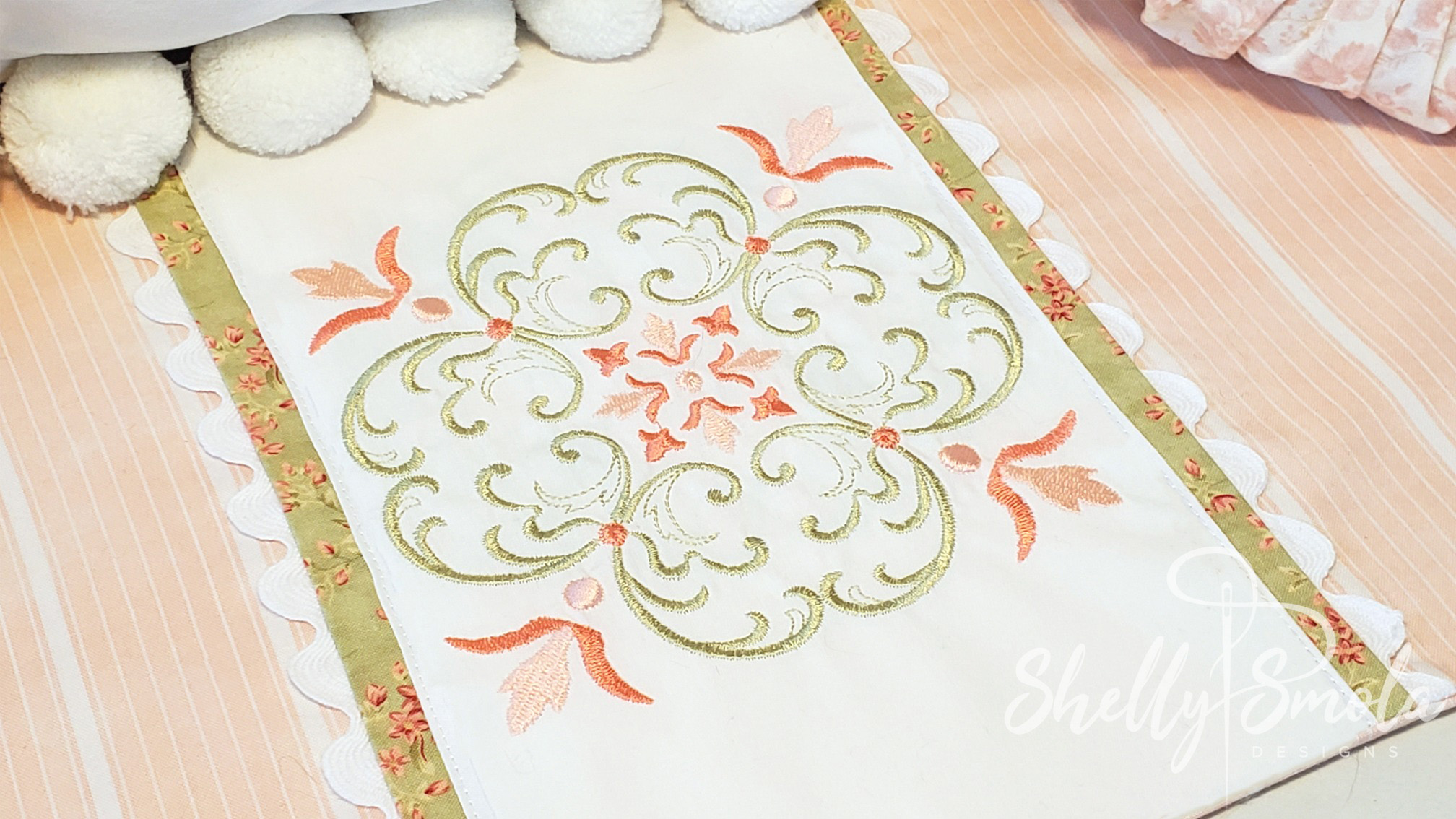 Vintage Square by Shelly Smola