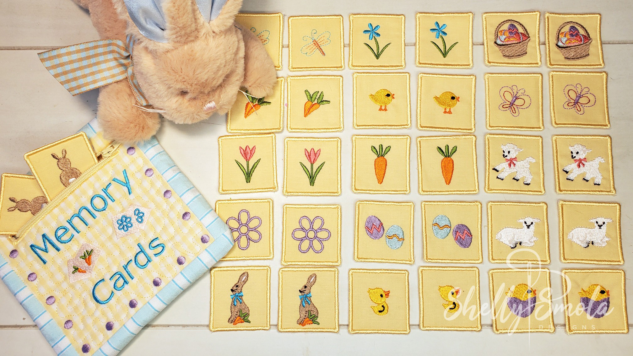 Easter Memory Game Cards by Shelly Smola