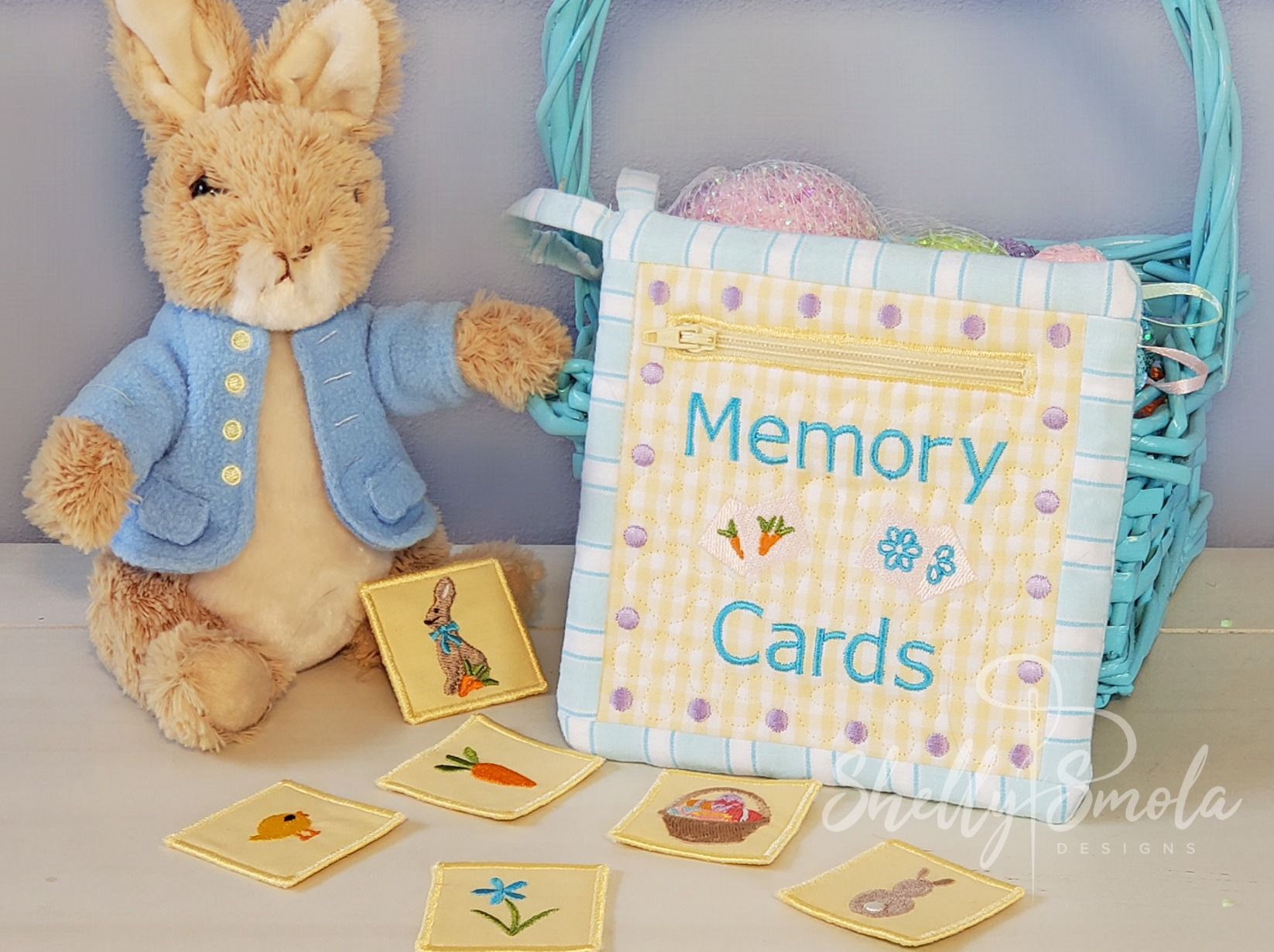 Easter Memory Game Pouch by Shelly Smola