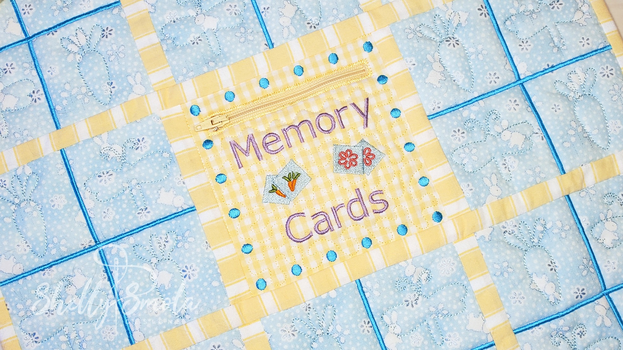 Easter Memory Game Pocket by Shelly Smola
