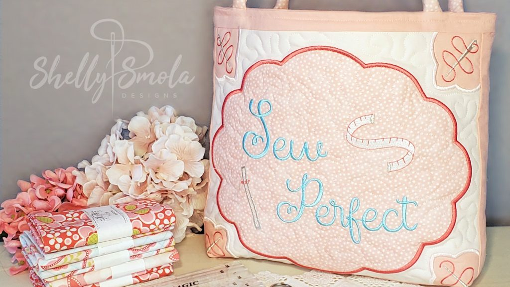 Sew Perfect Ruler Bag by Shelly Smola