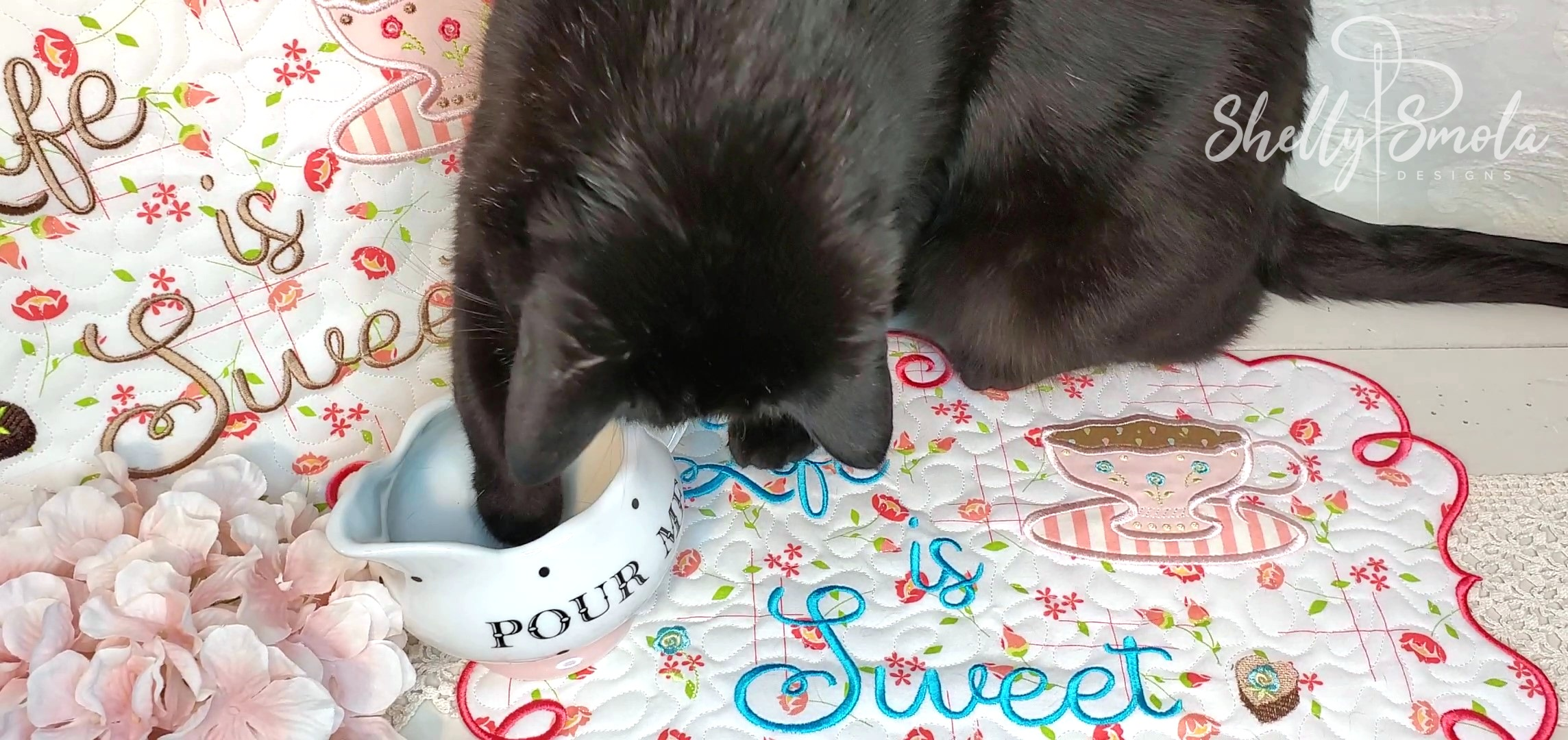 Life is Sweet Placemat and Spooky by Shelly Smola