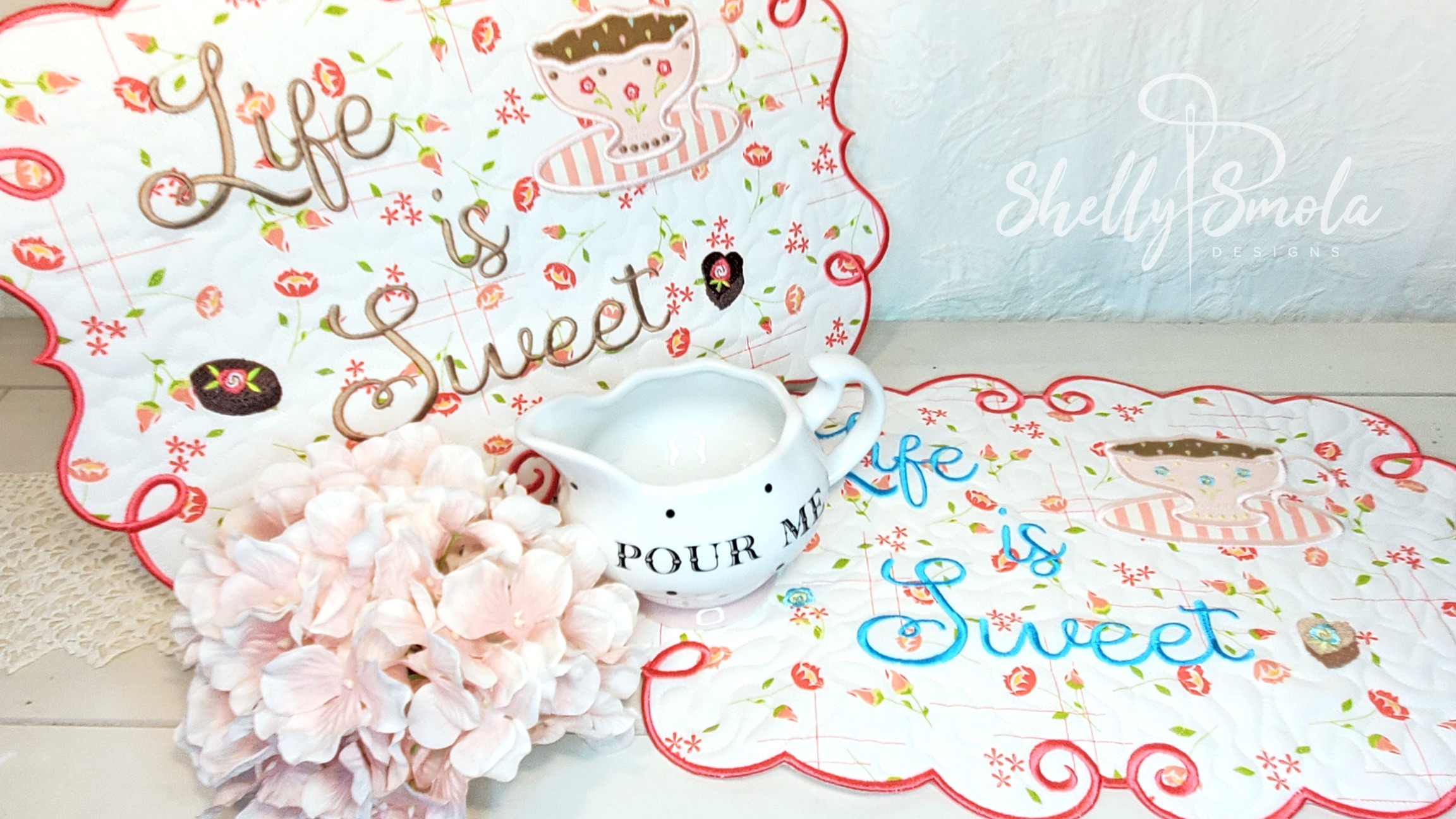 Life is Sweet Placemat by Shelly Smola