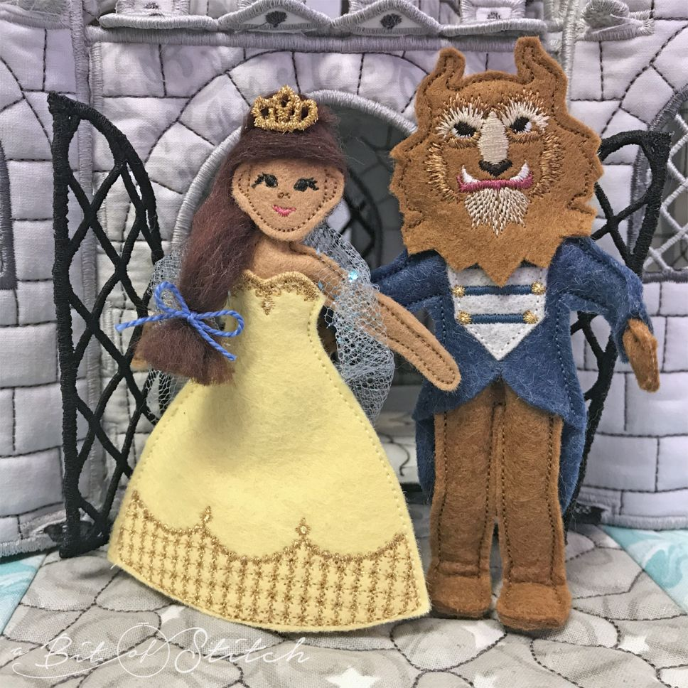 Beauty and the Beast by A Bit of Stitch
