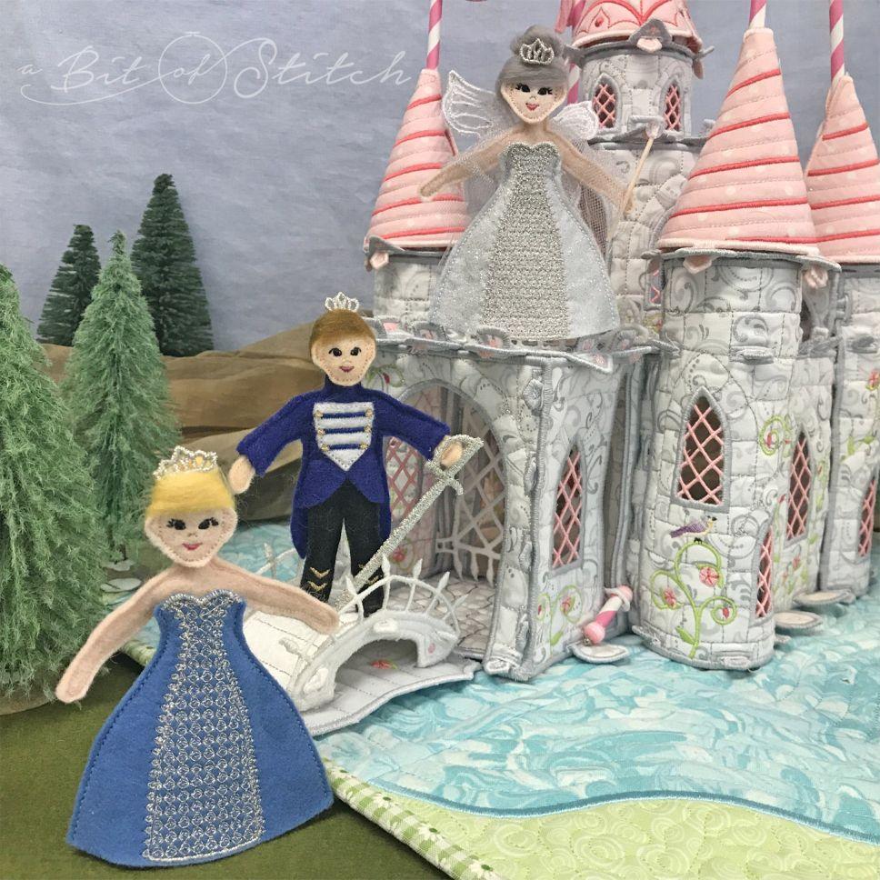 Fairy Godmother Scene by A Bit of Stitch