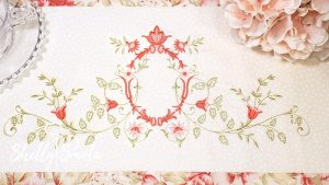 Cinderella Vines 1 Table Runner by Shelly Smola