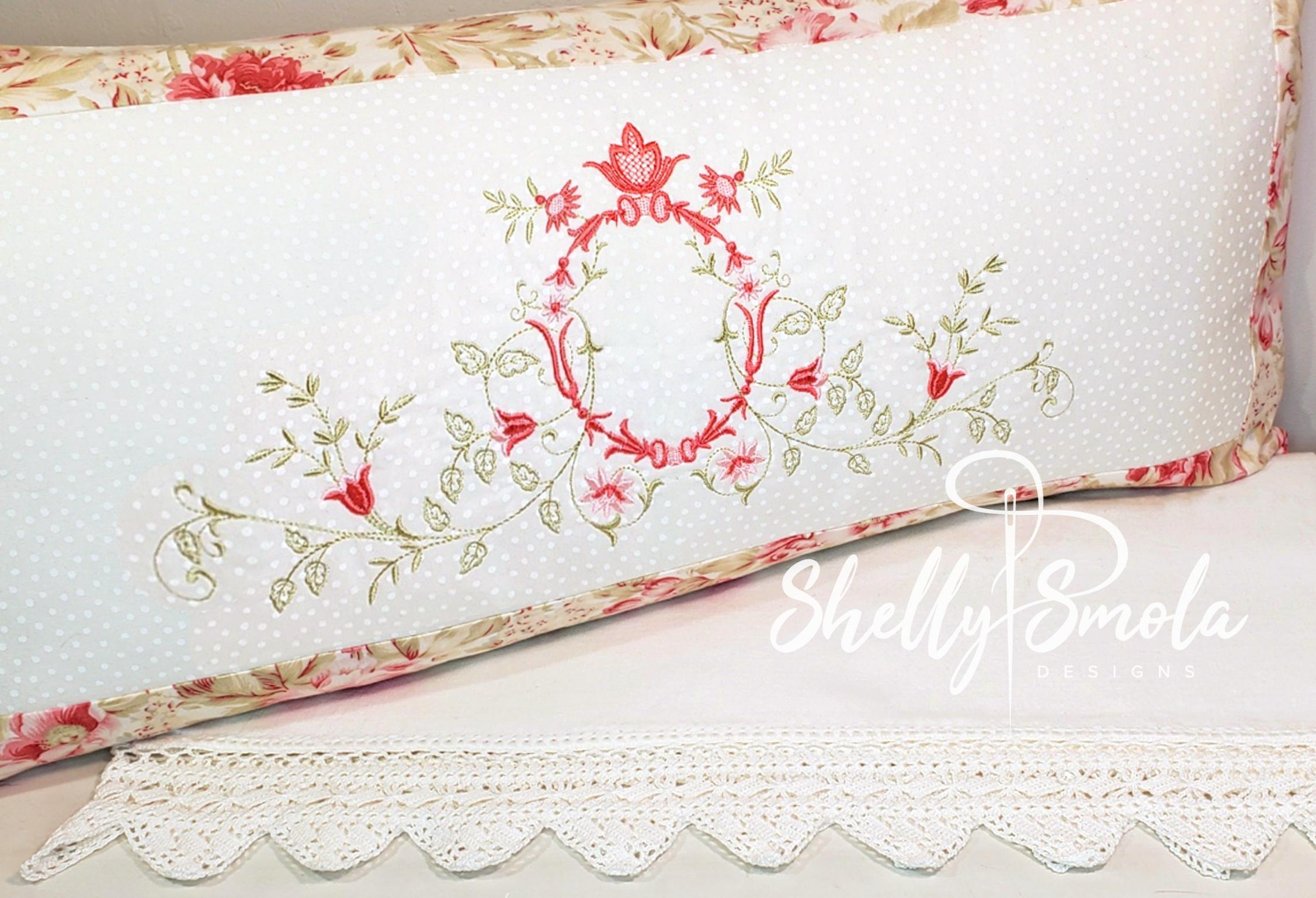 Cinderella Vines 1 Pillow by Shelly Smola