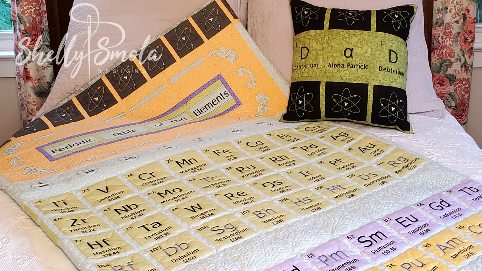 Periodic Table of the Elements by Shelly Smola