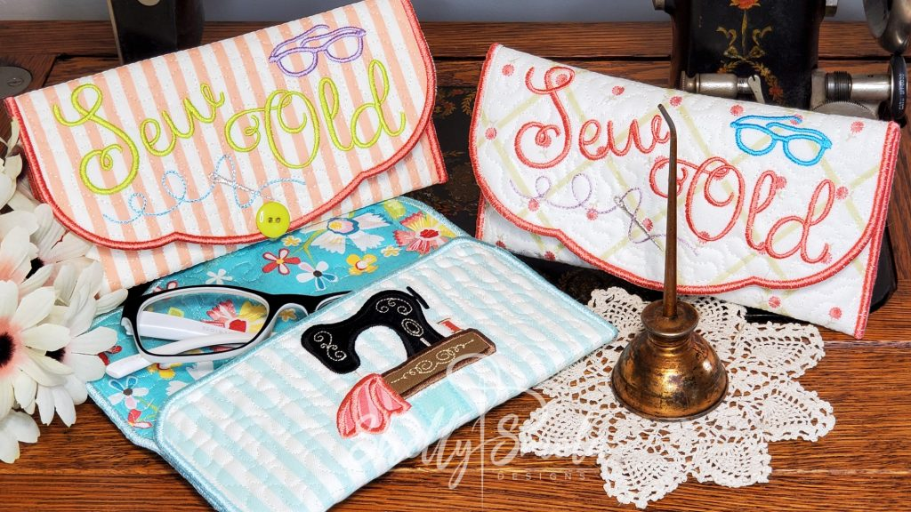 Sew Old Eyeglass Cases by Shelly Smola