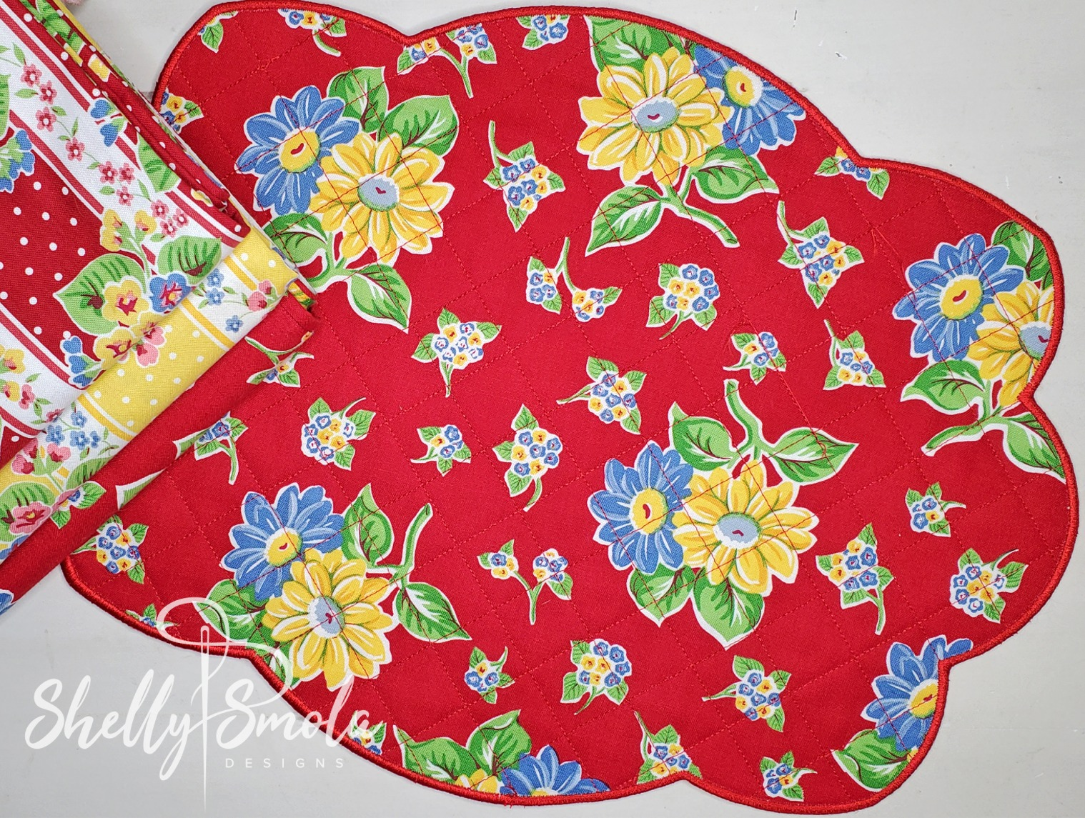 Clara's Placemat by Shelly Smola