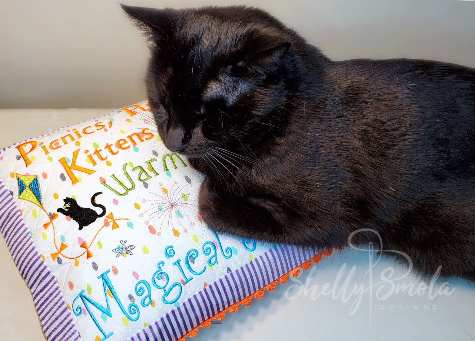 Magical Nights Pillow and Spooky by Shelly Smola