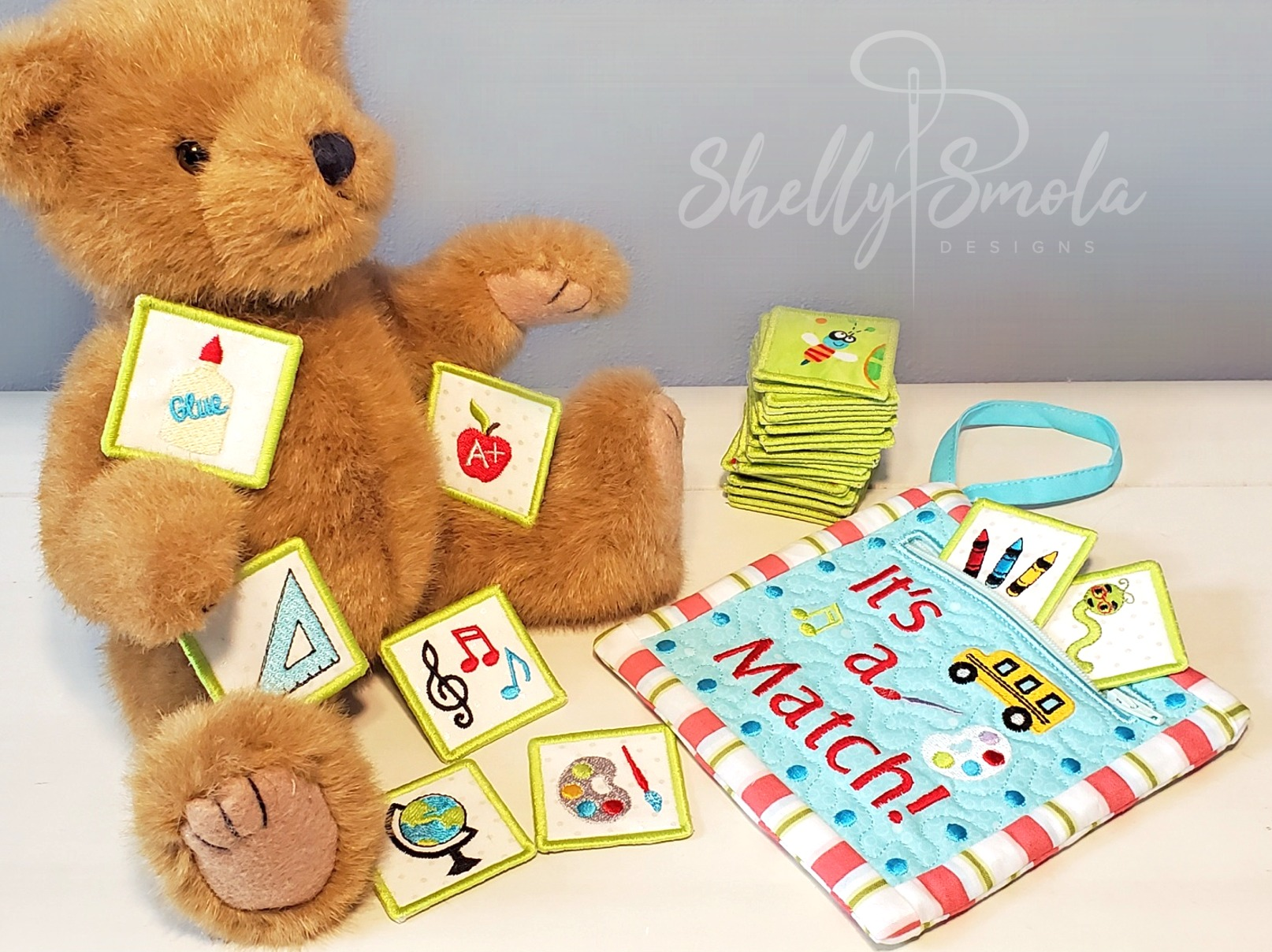It's a Match Pouch and Cards by Shelly Smola