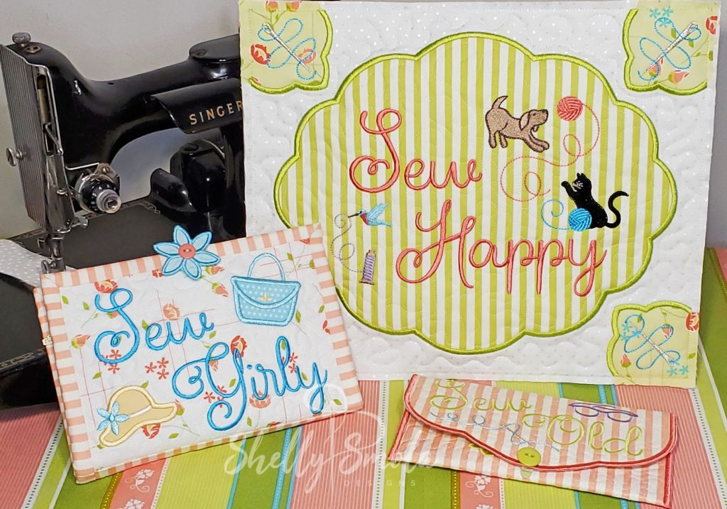 Sew Crazy Projects by Shelly Smola