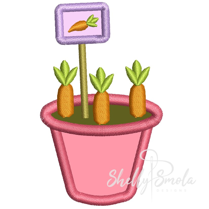 Carrot Planter by Shelly Smola