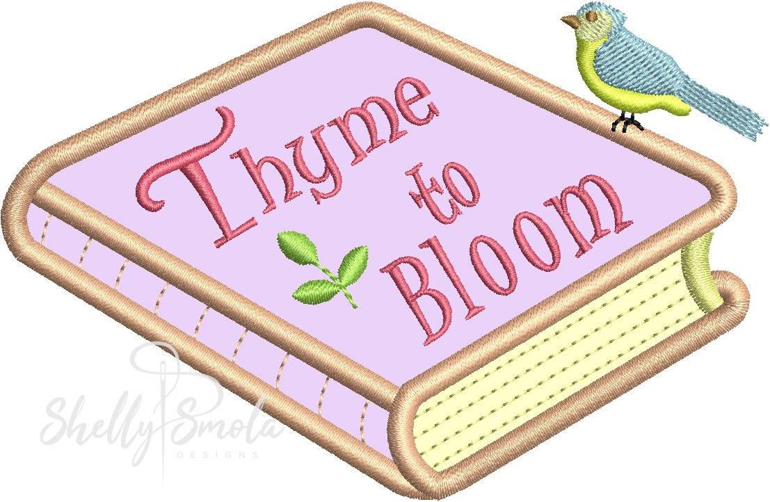Thyme to Bloom by Shelly Smola