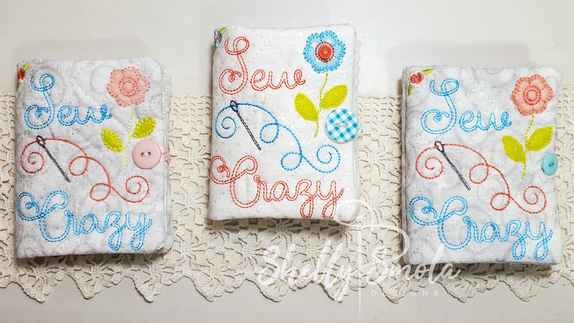 Sew Crazy Needle Book by Shelly Smola