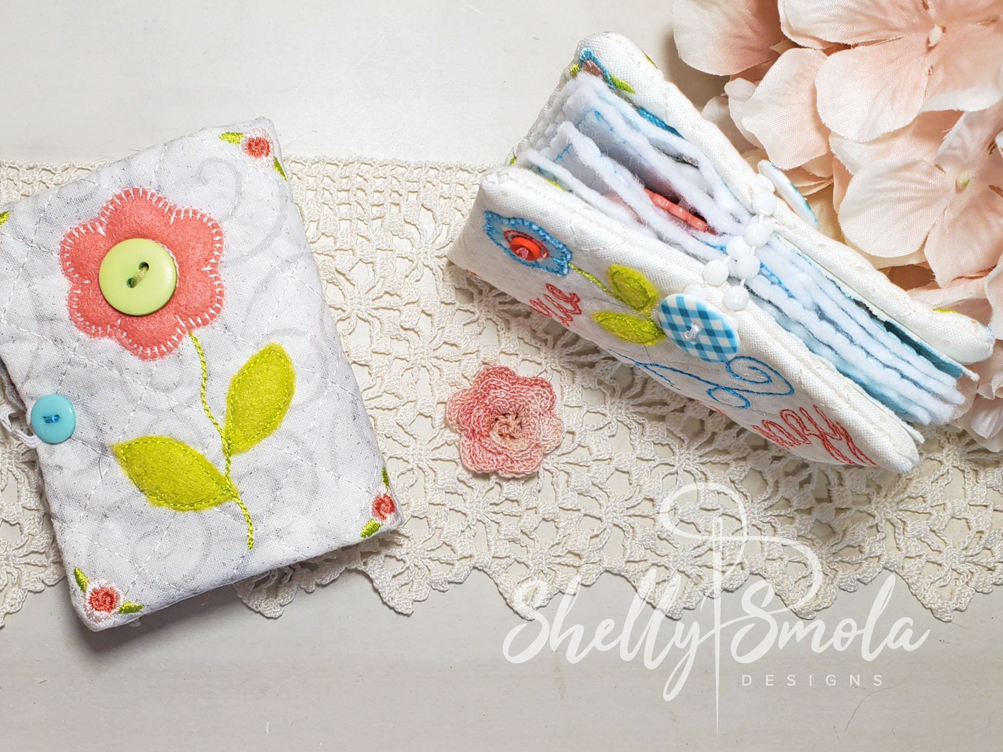 Needle Book Closure by Shelly Smola