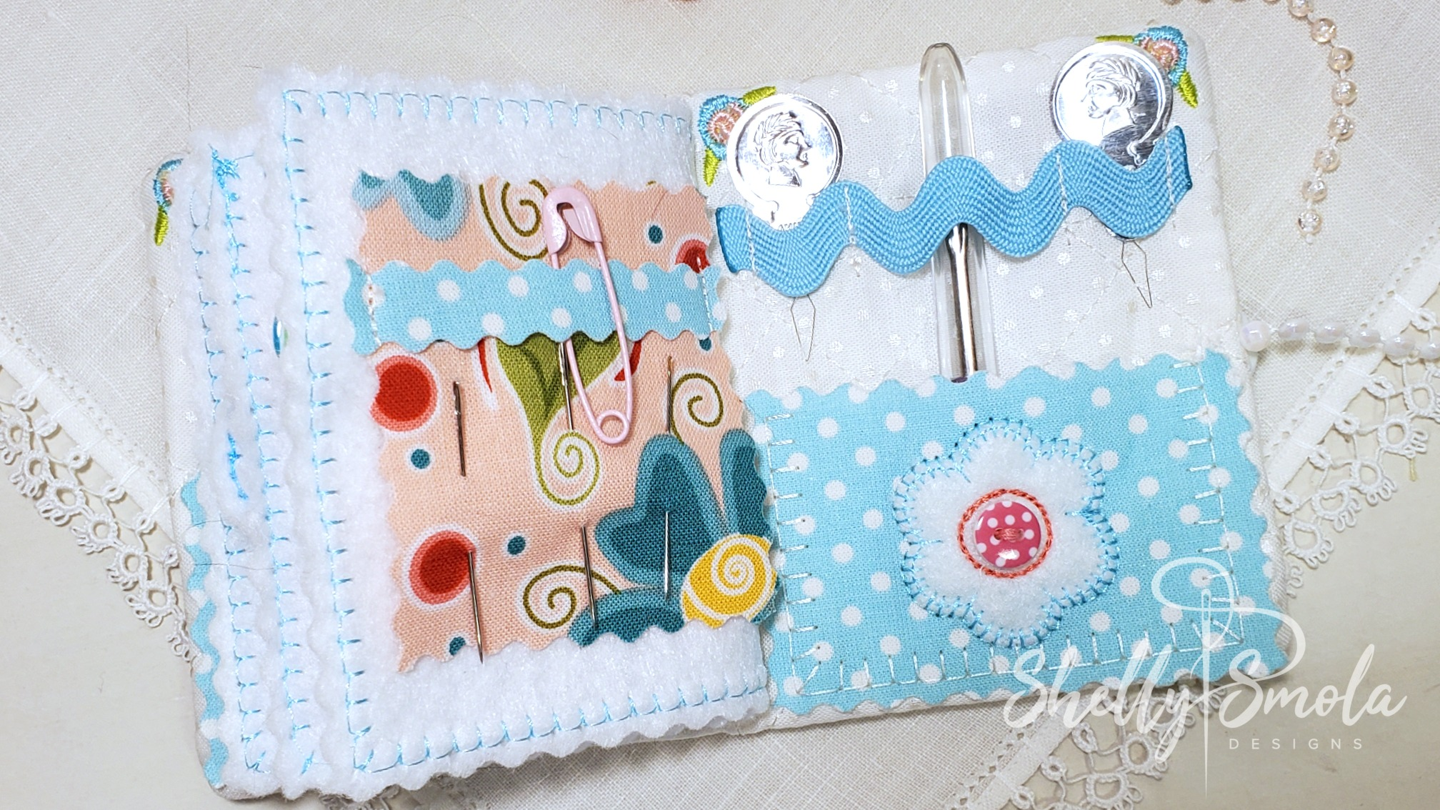 Needle Book Pages by Shelly Smola